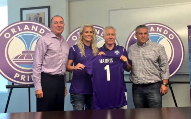Ashlyn Harris is the new Orlando Pride captain (Photo Courtesy Orlando Pride)