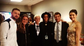 Rapinoe, O'Reilly present CMA, meet celebrities