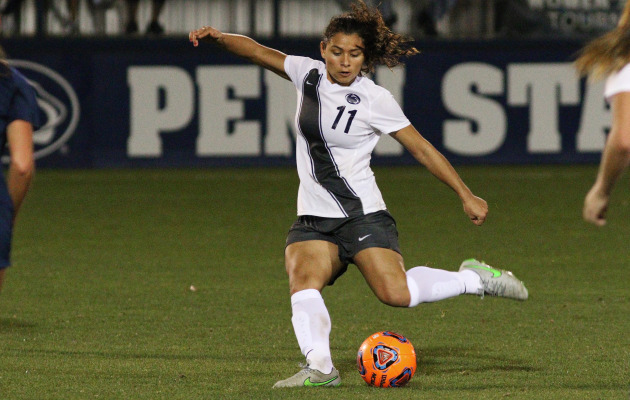 Penn State forward and Costa Rica international Raquel Rodriguez has declared for the 2016 NWSL Draft. (Photo: Penn State Athletics)