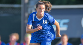 Taylor Racioppi making most of college opportunity