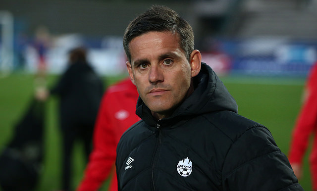 John Herdman is nominated for the FIFA Best Women's Coach award. (Photo Courtesy Canada Soccer)