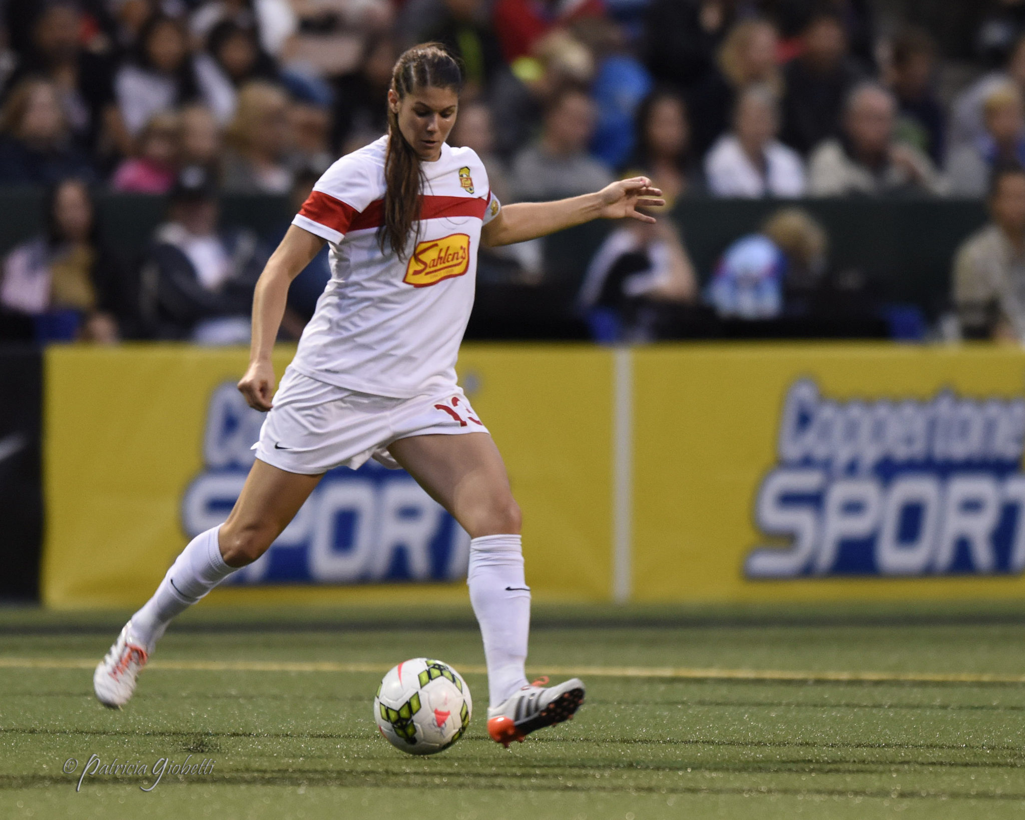 Brittany Taylor has been traded to FC Kansas City. (Photo Copyright Patricia Giobetti for The Equalizer)
