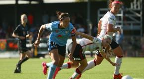 Westfield W-League: Simon scores in Sydney derby