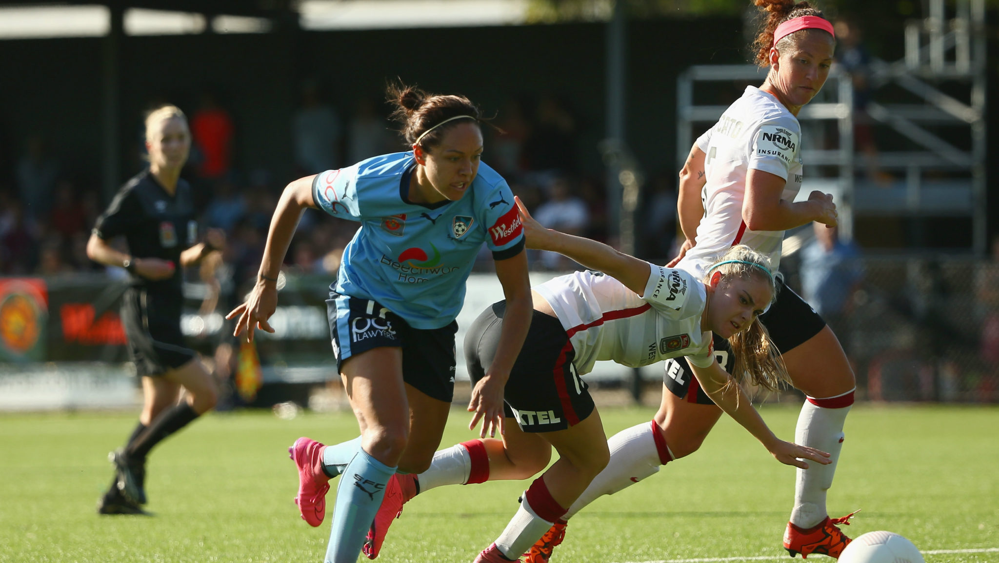 The Westfield W-League's Sydney derby ended in a draw this weekend. (Photo: Westfield W-League)
