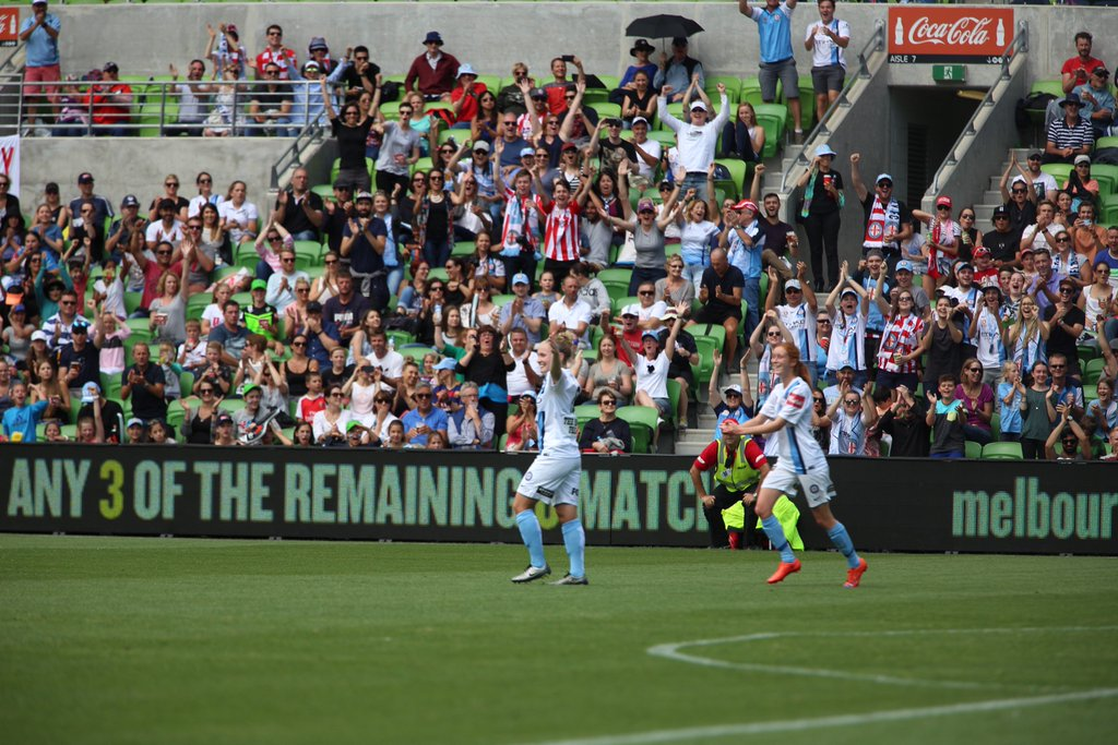 Kim Little scored the game-winning goal as Melbourne City defeated Sydney FC in the Westfield W-League Grand Final. (Photo: Melbourne City)