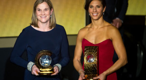 Lloyd, Ellis named finalists for FIFA year end awards