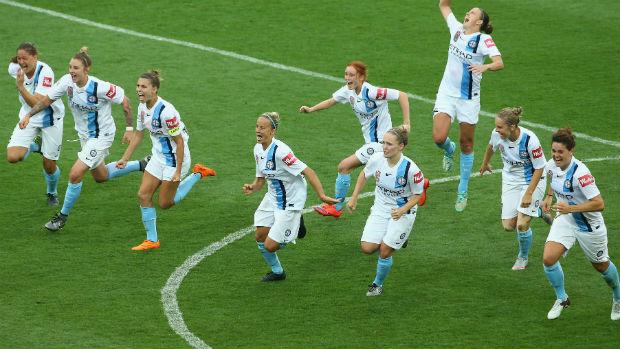 Melbourne City went unbeaten last season. (Photo: Westfield W-League)