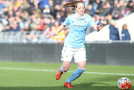 Asllani debuts, lauds Manchester City's future