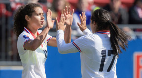 Pair of hat tricks leads Costa Rica past Puerto Rico