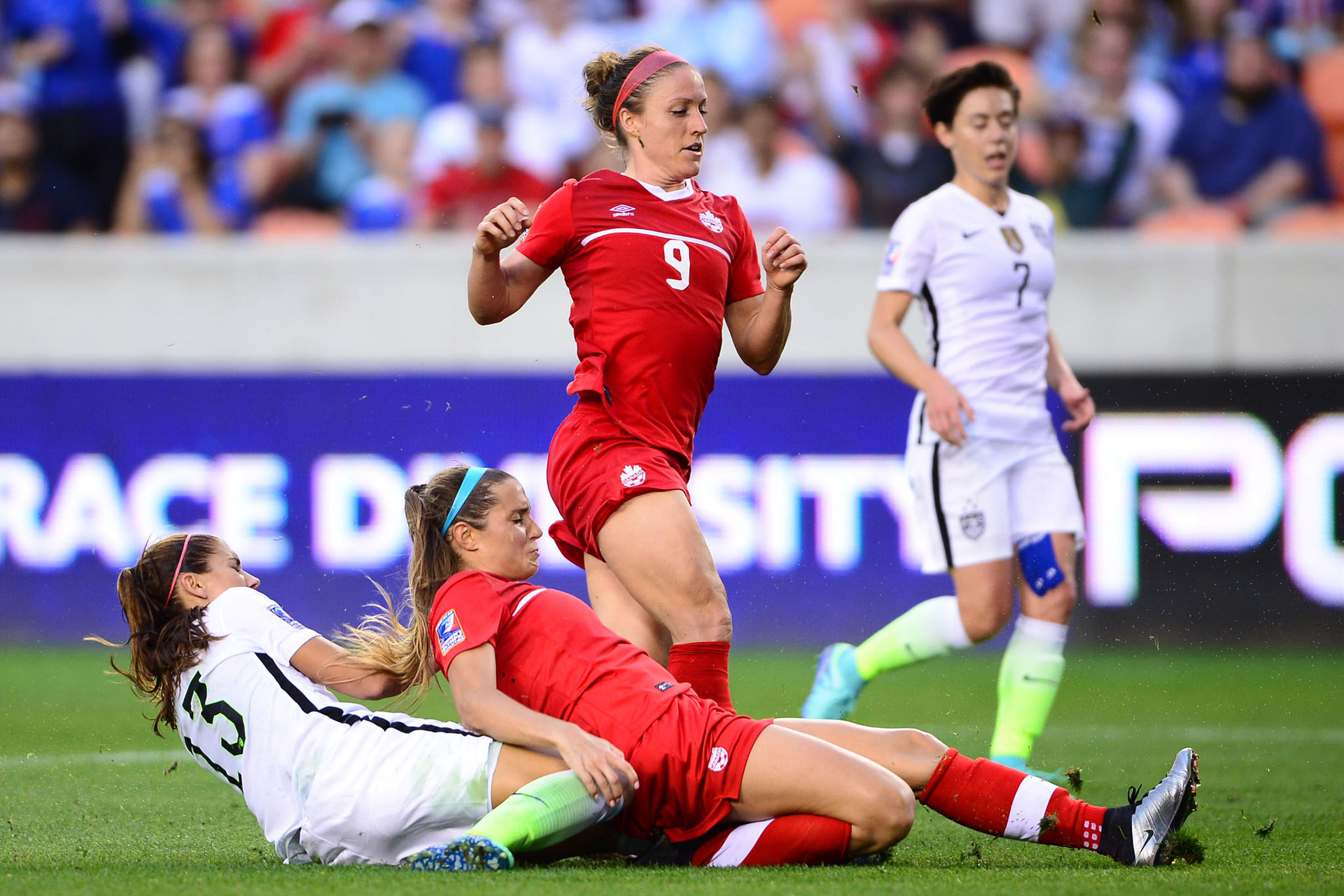 The USWNT and Canada will revisit their fierce rivalry in November. (photo courtesy Canada Soccer)