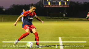 Spirit hold off Sky Blue to go top of NWSL