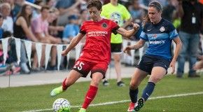 Down to ten players, FC KC draw Thorns 1-1