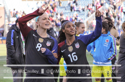USWNT rolls past Costa Rica in final Rio tune-up