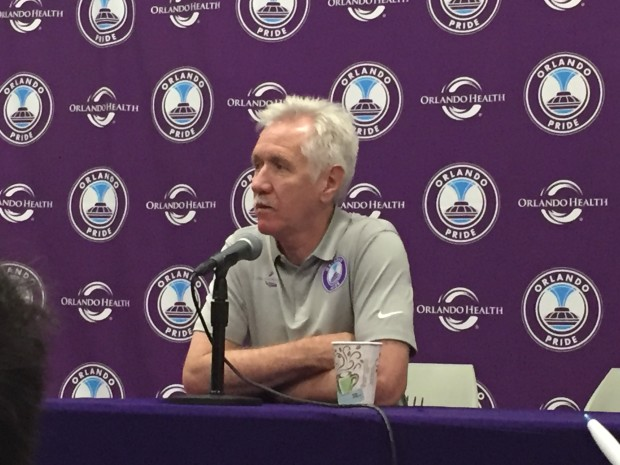 Pride head coach Tom Sermanni