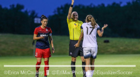 Spirit, Thorns settle for 0-0 draw; Heath sent off