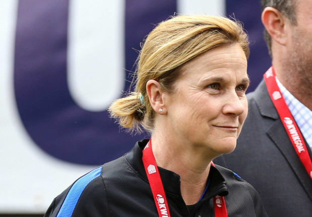 As promised, Jill Ellis has begun tinkering with the USWNT roster--and formation (Photo Copyright Erica McCaulley for The Equalizer)