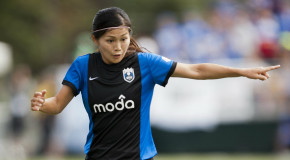 Kawasumi scores brace as Seattle shuts out Boston