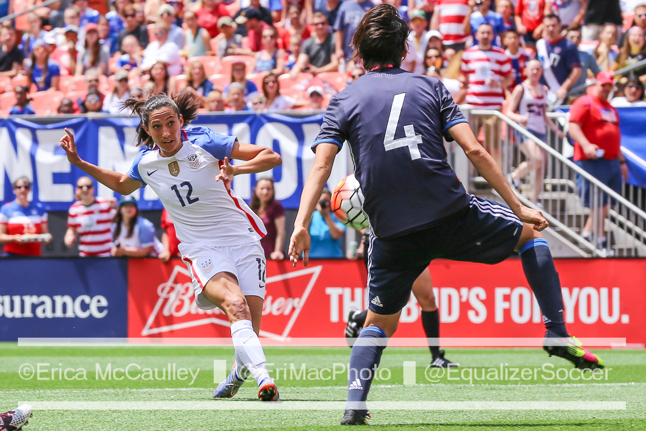 The USWNT will reportedly host a four-team summer tournament in 2017. (Photo Copyright Erica McCaulley for The Equalizer)