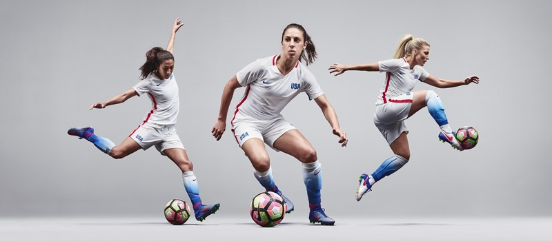 USWNT gets new Olympic kit with  platinum  sleeves  09cd2749fe