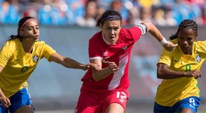 Canada falls 2-0 to Brazil in disappointing display
