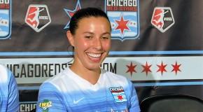 Vanessa DiBernardo thriving for 1st place Red Stars
