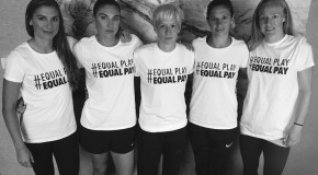 USWNT re-ups fight for equal pay with public displays