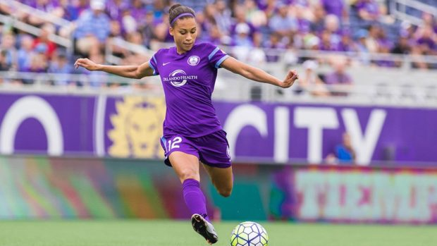 Kristen Edmonds, who started all 19 games last year for the Pride, looks forward to this week's test against an undefeated North Carolina Courage.
