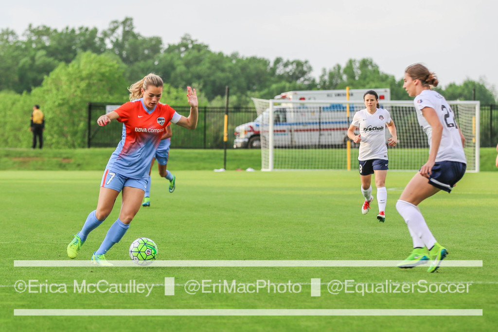 Kealia Ohai scored 11 goals in her final 10 games of the season for the Houston Dash. (Photo Copyright Erica McCaulley for The Equalizer)