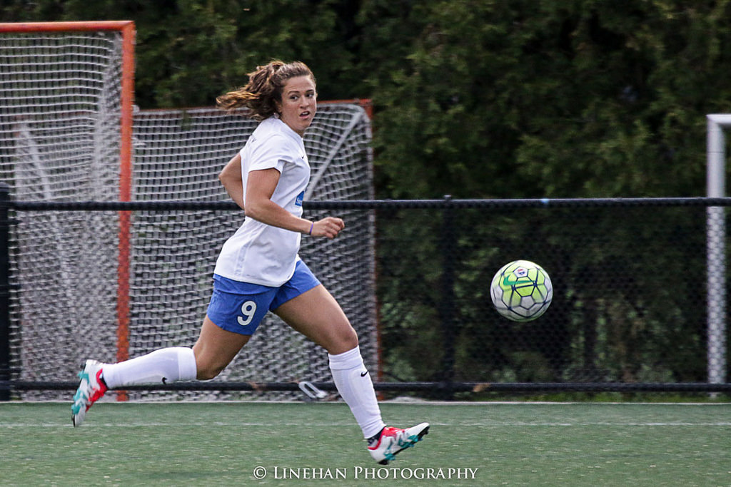 Stephanie McCaffrey is now a Chicago Red Star after being traded in a deal announced Friday. (Photo Copyright Clark Linehan for The Equalizer)