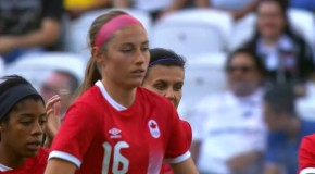 Beckie's brace propels Canada into quarterfinals
