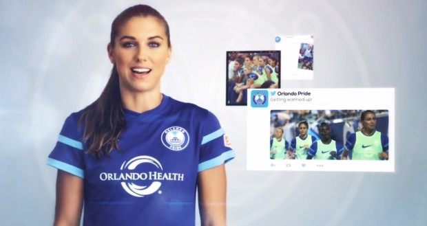 160808 Alex Morgan Orlando