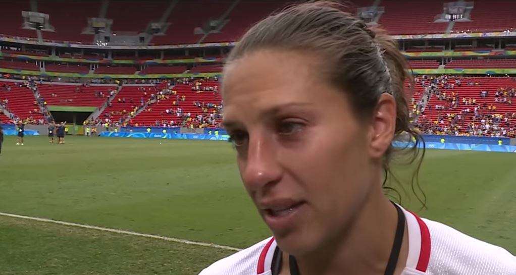 Carli Lloyd and the USWNT are headed home earlier than expected.