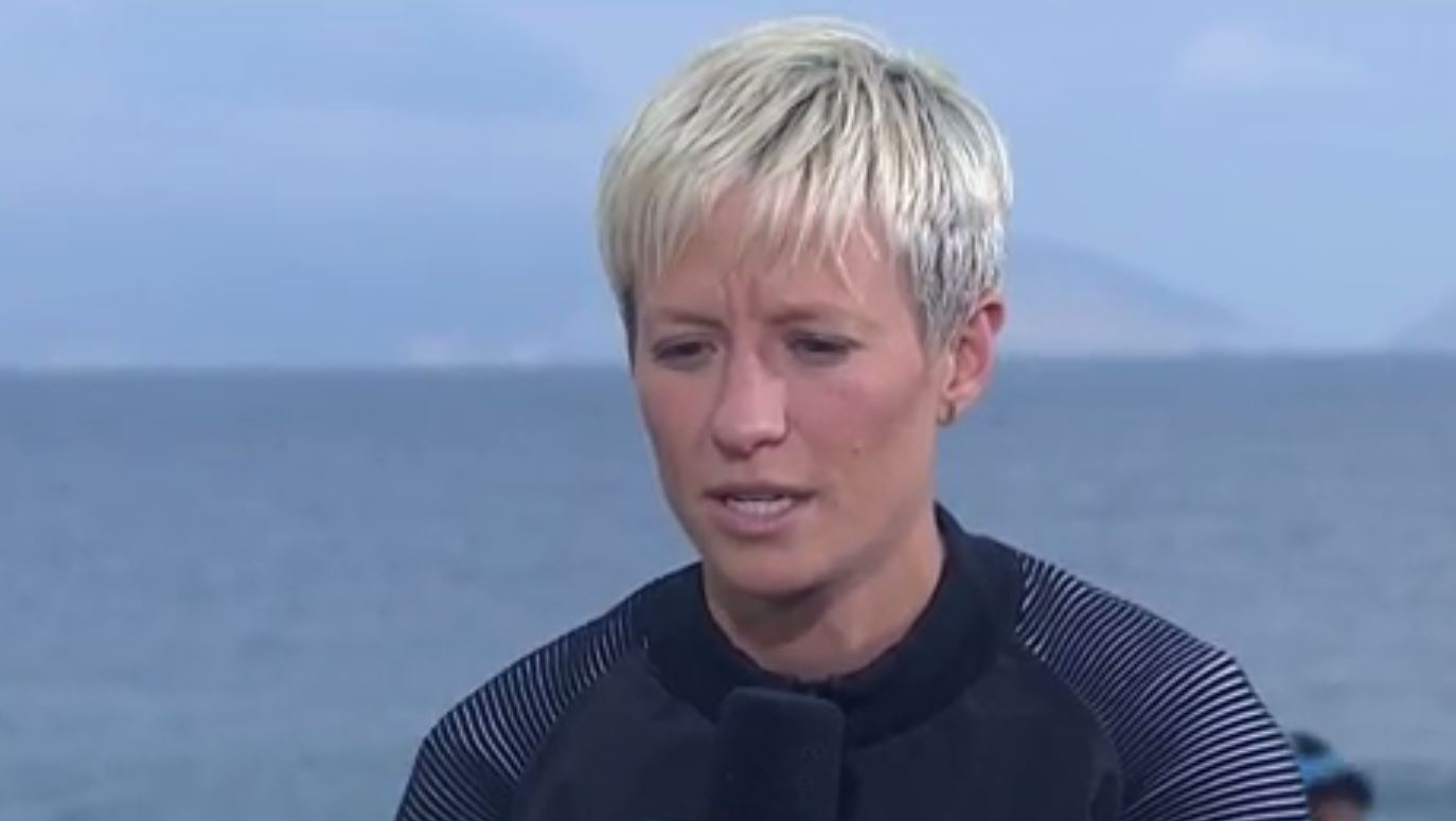 Megan Rapinoe says she's 'disappointed' by Solo's 'cowards' comments toward Sweden.