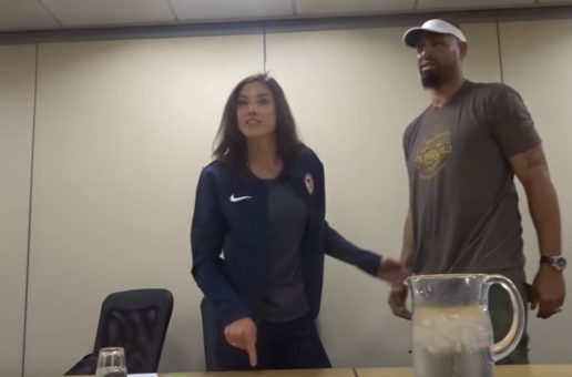 Hope Solo on camera: '17 f***ing years and it's over'