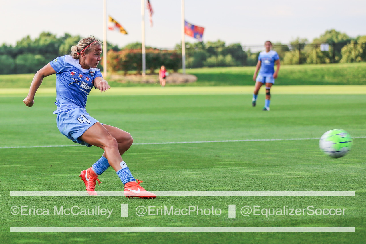 Alyssa Mautz of the Chicago Red Stars. (Photo Copyright Erica McCaulley for The Equalizer)