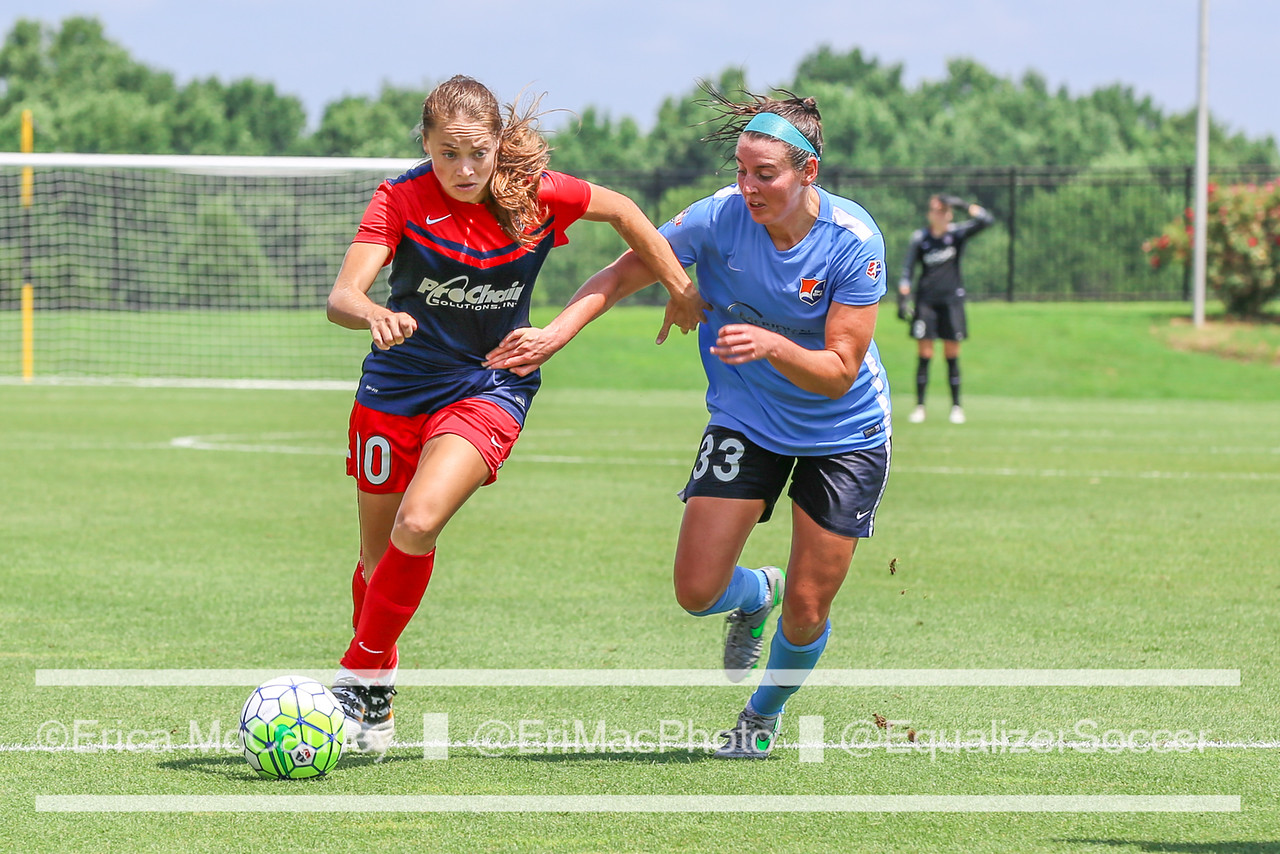 Estefania Banini is returning to the Washington Spirit after a stint in Spain. (Photo Copyright Erica McCaulley for The Equalizer)