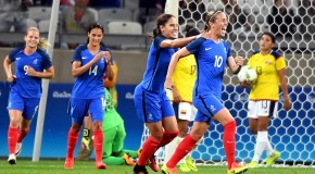 France delights in dominant win over Colombia