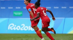 Canada earns historic 2-1 win over Germany