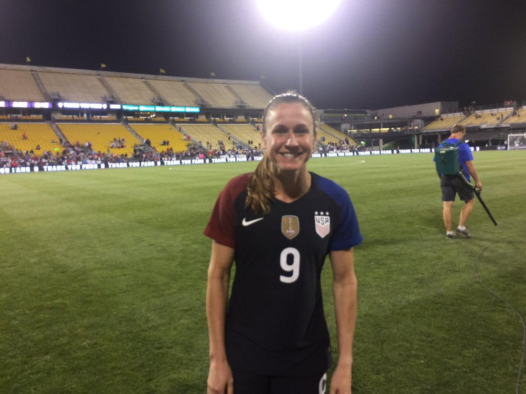 Heather O'Reilly played for the U.S. for the final time on Thursday. (Photo Copyright Patti Giobetti for The Equalizer)