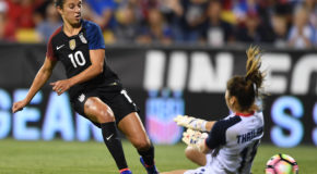Lloyd's brace, Ohai's debut goal lifts USWNT past Swiss