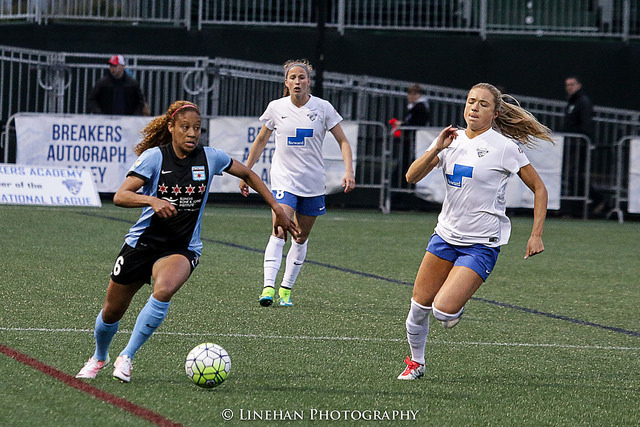 Casey Short was great for the Chicago Red Stars. (Photo Copyright Clark Linehan for The Equalizer)