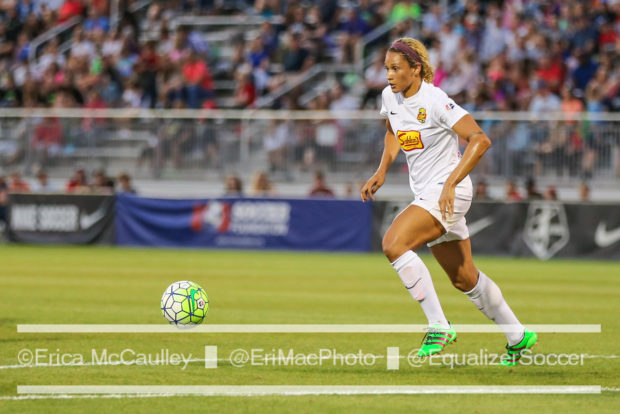 Lynn Williams won the Golden Boot, the MVP, the NWSL Championship, and her first international cap (photo copyright EriMac Photo for The Equalizer.)