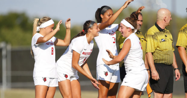 Rutgers continued its  dethrone  higher seeds as they defeated two seed Northwestern 1-0 to advance to the conference final Sunday. (Photo by Rich Schultz, Rutgers))