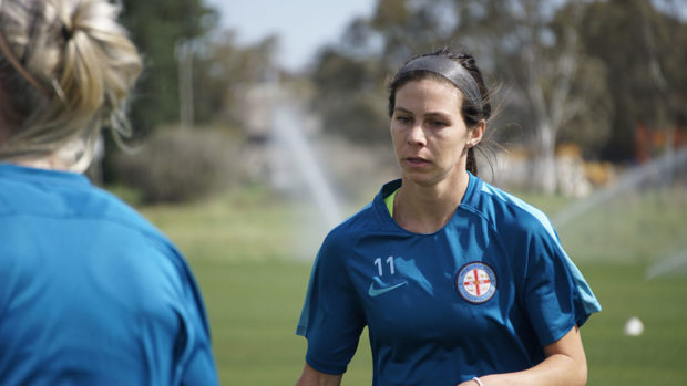 Erika Tymrak and Melbourne City FC suffered their first ever defeat in the W-League last weekend.