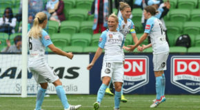 Fishlock's brace lifts unbeaten City in Melbourne derby