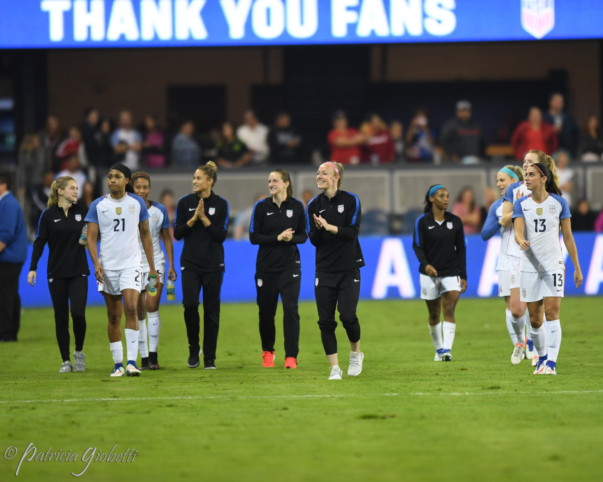 The U.S. women technically finished 2016 without a loss, but it hardly felt like that. (Photo Copyright Patricia Giobetti for The Equalizer)