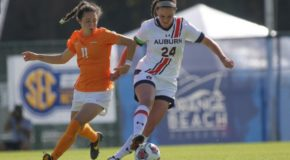 SEC quarterfinals highlighted by hat tricks and penalty kicks