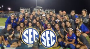 Florida repeats as SEC tournament champions with 2-1 overtime win
