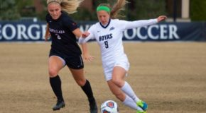 Crystal Thomas' strike leads Georgetown to the College Cup