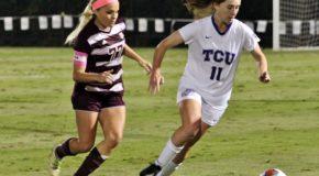 Texas A&M early goal eliminates TCU from NCAA play